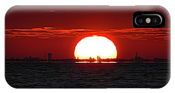Amber Sky IPhone Case