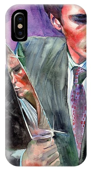 Samantha iPhone Case - American Psycho Painting by Suzann Sines