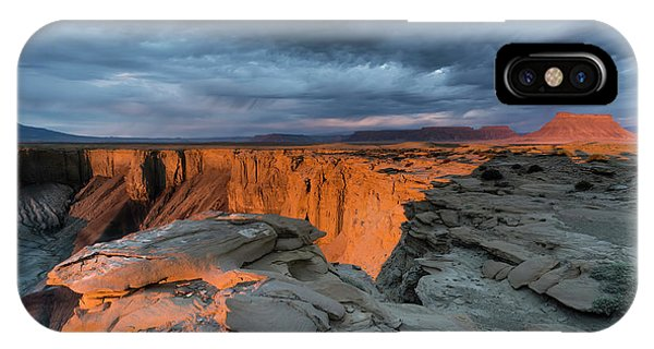 Beautiful Sunrise iPhone Case - American Southwest by Larry Marshall