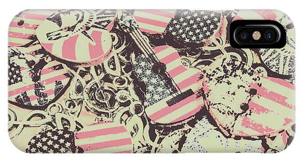 Rock And Roll Art iPhone Case - Americana Audio by Jorgo Photography - Wall Art Gallery