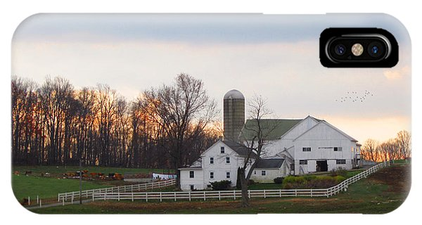 Amish Country iPhone Case - Amish Farm At Dusk  by Gordon Beck