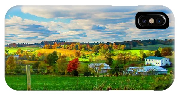 Amish Farm Beauty IPhone Case