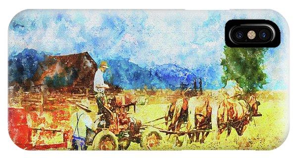 Amish Life IPhone Case