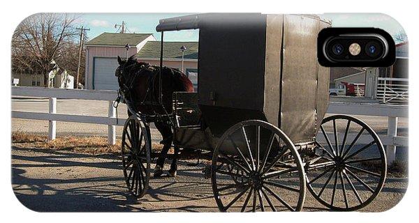 Amish Transportation IPhone Case