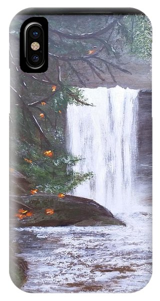 Ammonite Falls IPhone Case