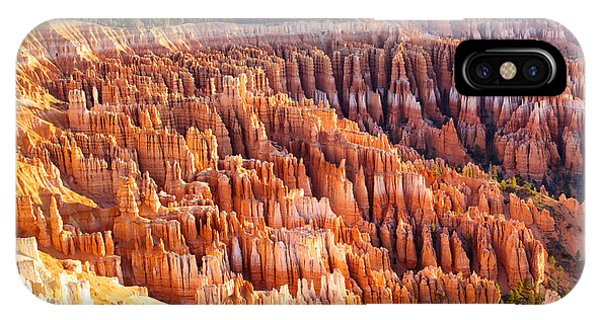 Rock Formation iPhone Case - Amphitheater From Inspiration Point At by Dibrova