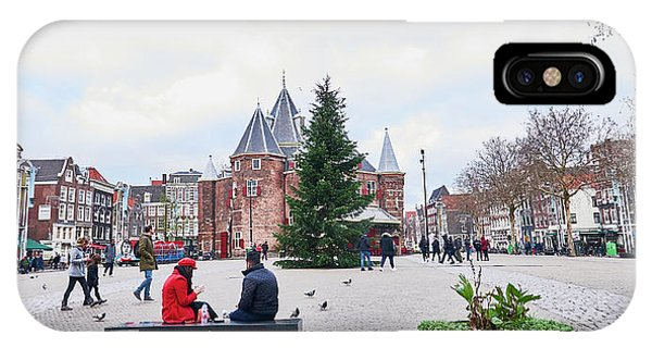 Amsterdam Christmas IPhone Case