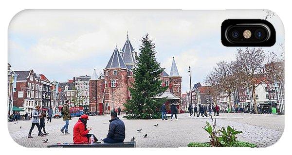 Amsterdam Christmas IPhone Case