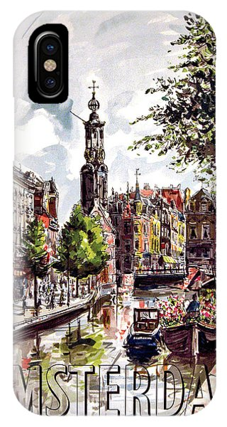 Holland iPhone Case - Amsterdam by Long Shot