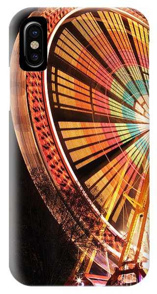 Spin iPhone Case - Amusement Park by Brunoweltmann