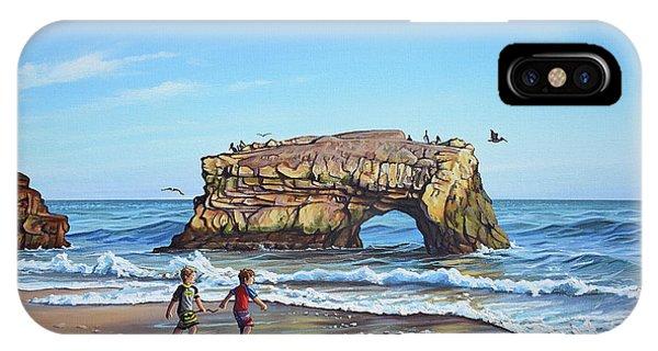 An Adventure On The Beach IPhone Case