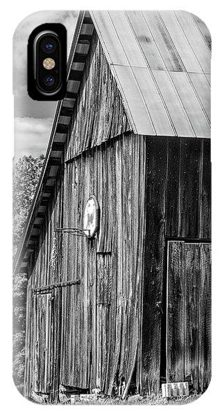 Steve Harrington iPhone Case - An American Barn Bw by Steve Harrington