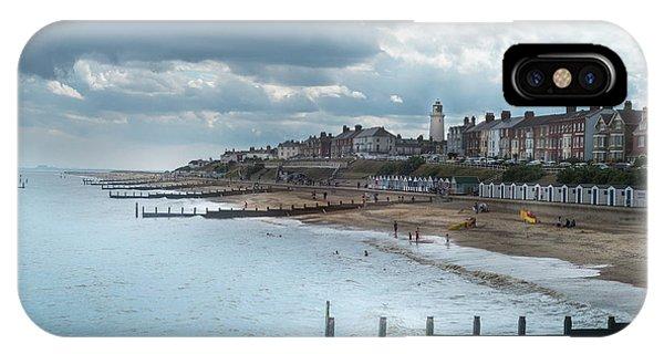 An English Beach IPhone Case