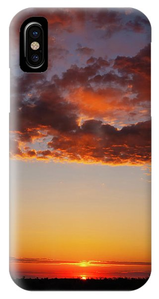 An Oklahoma Sunsrise IPhone Case