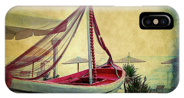 IPhone Case featuring the photograph an Old Boat by Milena Ilieva