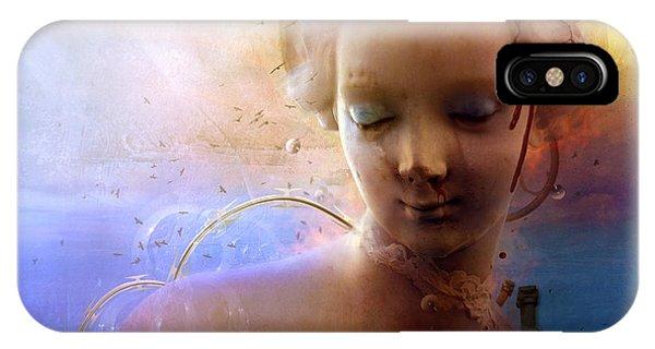 Fairytales iPhone Case - Anachronic Circles by Mario Sanchez Nevado