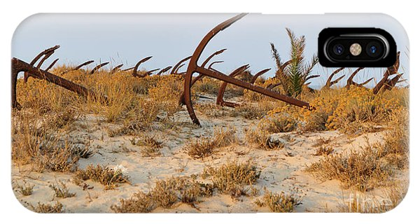 Anchors In Barril Beach IPhone Case