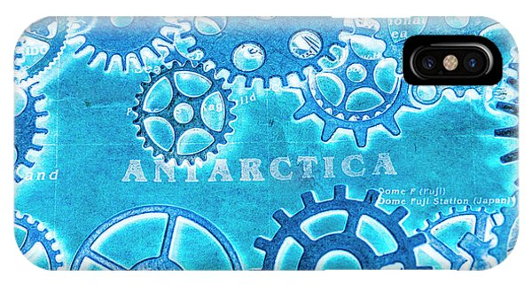 Technology iPhone Case - Ancient Antarctic Technology by Jorgo Photography - Wall Art Gallery