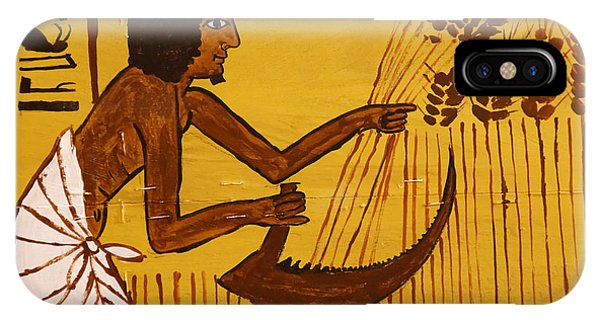 IPhone Case featuring the photograph Ancient Egypt Farmer by Sue Harper