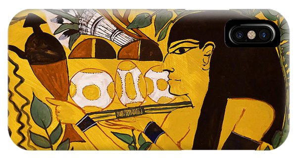 IPhone Case featuring the photograph Ancient Egypt Man by Sue Harper