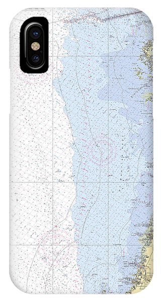 Anclote Keys To Crystal River Noaa Nautical Chart 11409 IPhone Case
