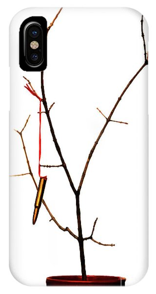 And A Cartridge In A Bare Tree... IPhone Case