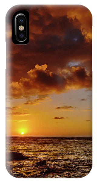 And Then The Sun Set IPhone Case
