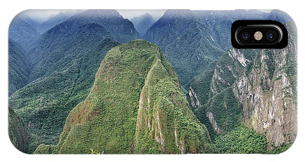 IPhone Case featuring the photograph Andes Overlook by Jon Exley