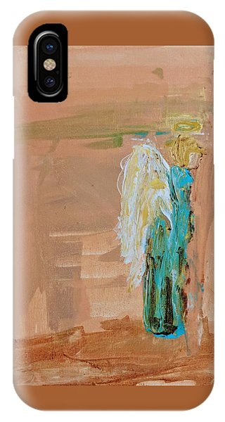 Angel Boy In Time Out  IPhone Case