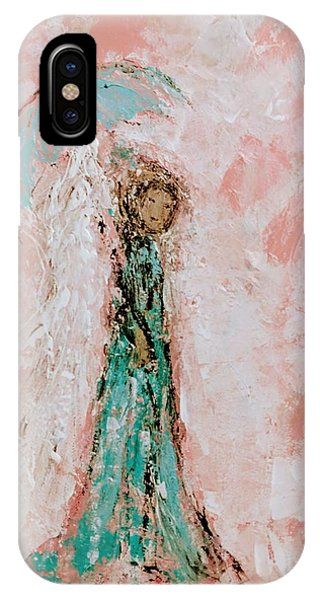 Angel By Your Side IPhone Case
