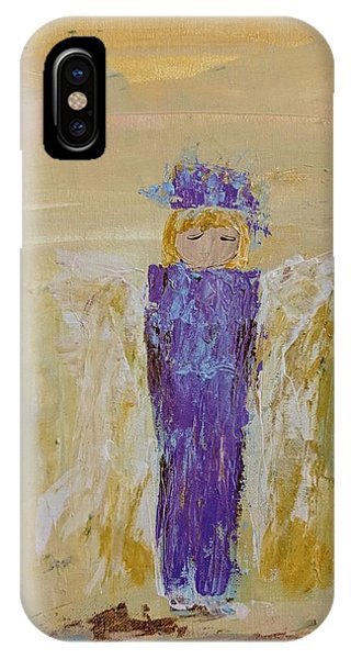Angel Girl With A Unicorn IPhone Case