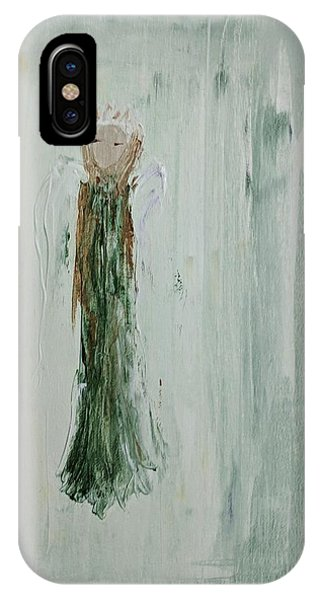 Angel In Green IPhone Case