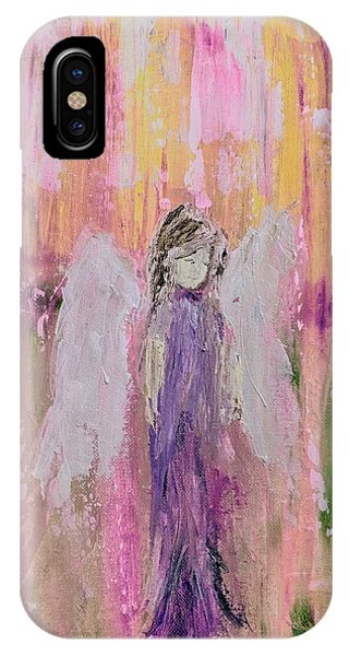 Angel In  Paradise IPhone Case
