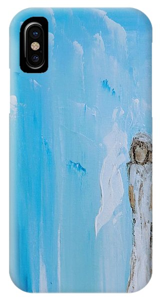 Angel Of Simplicity IPhone Case