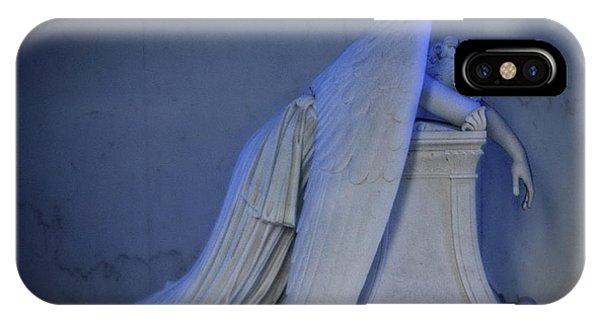 Angel Weeping IPhone Case