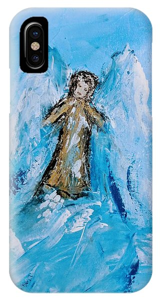 Angel With A Purpose IPhone Case