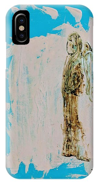 Angel With His Dog Wings IPhone Case