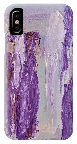Angels In Purple IPhone Case