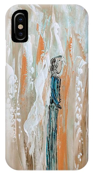 Angels In The Midst Of Every Day Life IPhone Case