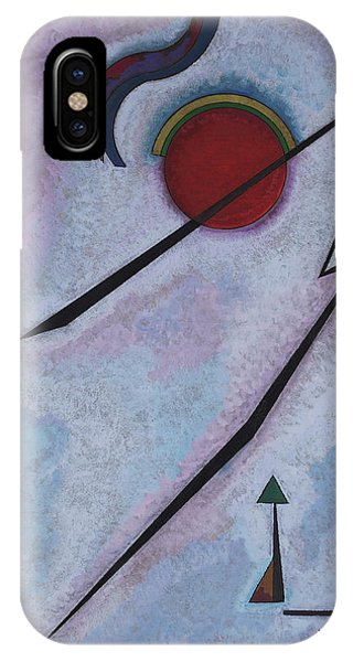 Illusion iPhone Case - Angular Line - Linea Angolare, 1930 by Wassily Kandinsky