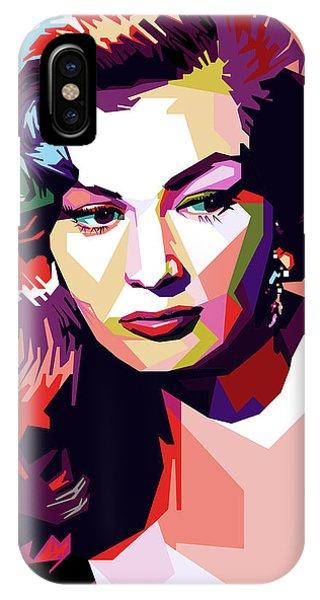 Anita Ekberg Pop Art IPhone Case