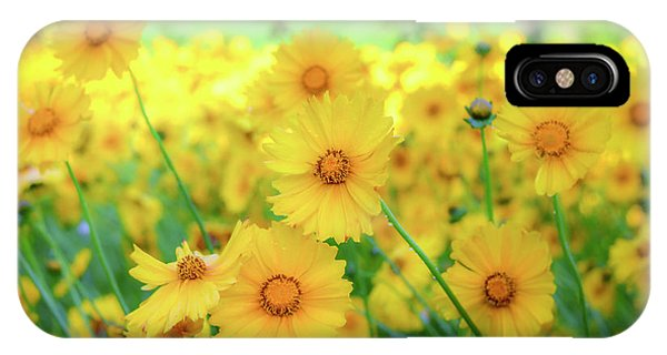 Another Glimpse, Pollinator Field IPhone Case