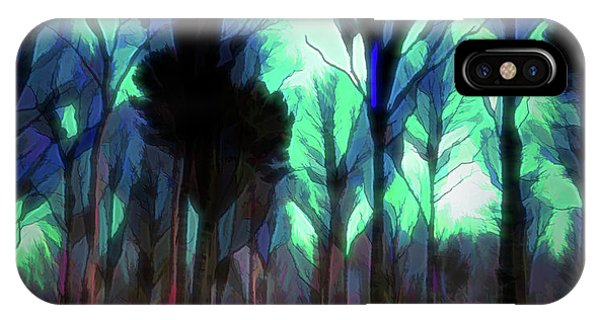 Another World - Forest IPhone Case