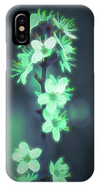 Another World - Glowing Flowers IPhone Case