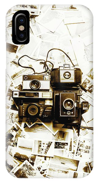 Vintage Camera iPhone Case - Antique Albums by Jorgo Photography - Wall Art Gallery