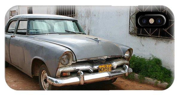 Antique Car Grey Cuba 11300501 IPhone Case