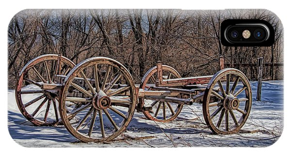 Wheeler Farm iPhone Case - Antique Farm Equipment by Nick Gray