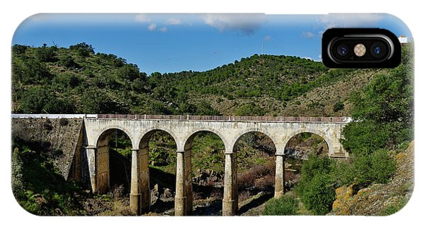 Antique Mertola's Bridge In Alentejo IPhone Case