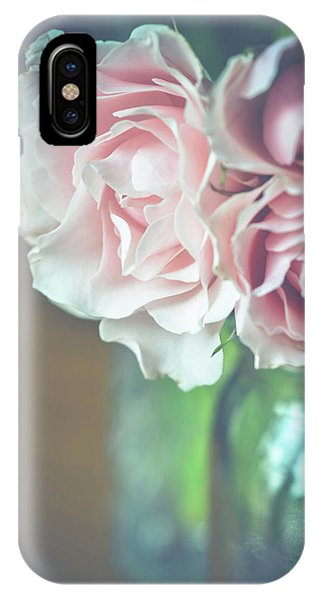 IPhone Case featuring the photograph Antique Roses by Michelle Wermuth