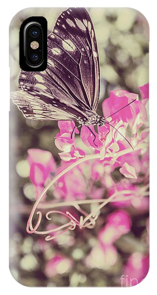 Moth iPhone Case - Antique Spring by Jorgo Photography - Wall Art Gallery